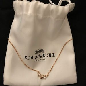 Brand new coach necklace